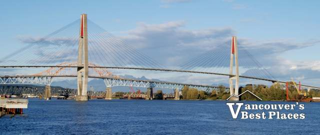 Pattullo Bridge in New Westminster