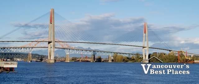 Pattullo Bridge in New Westminster