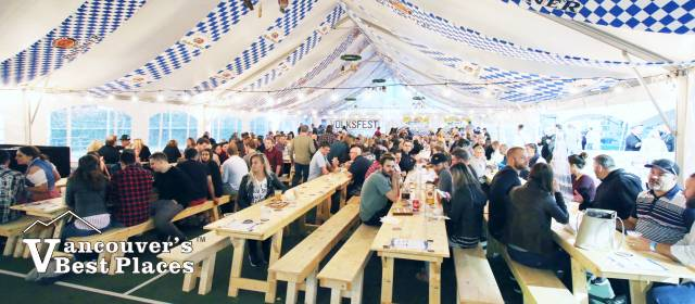 Port Moody Oktoberfest Beer Hall