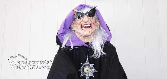 Flyover Canada Halloween Witch