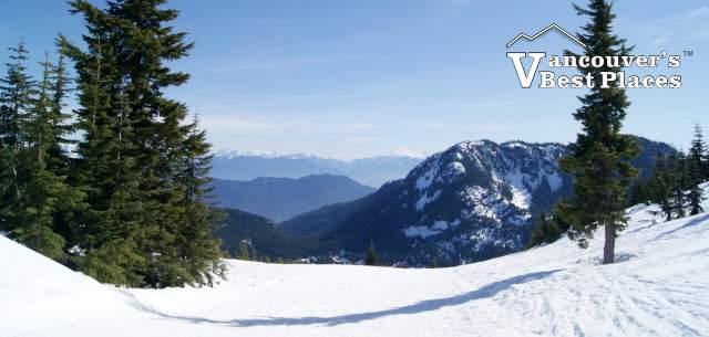 View at Sasquatch Mountain Ski Hill
