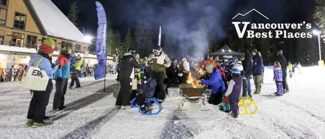 Cypress Mountain Fire Pit Gathering
