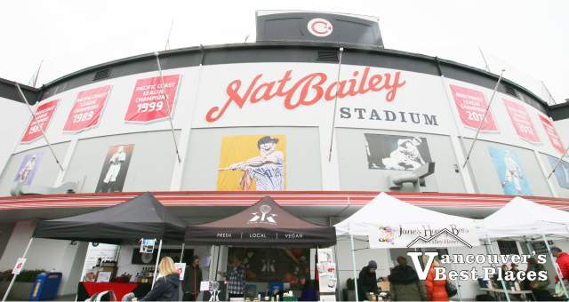 Nat Bailey Stadium on Market Day