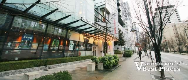 Seymour Street and Vancity Theatre