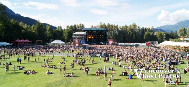 Squamish Music Festival Venue