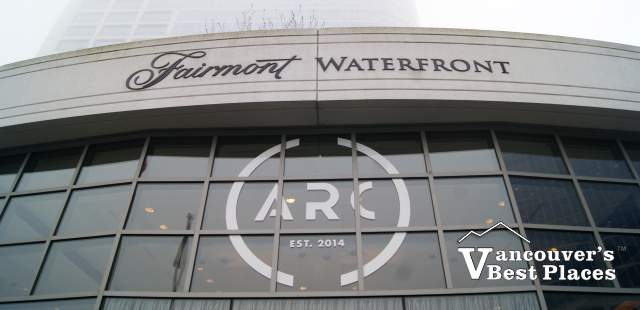 Arc Restaurant at Fairmont Waterfront Hotel