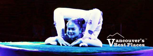 Chinese Circus Contortionist