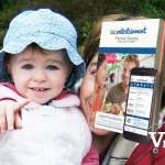 Little Girl and Entertainment Coupon Book