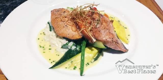 Salmon Dinner at Salmon House Restaurant