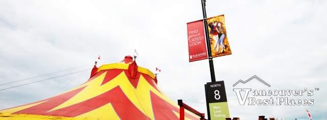 Circus Big Top at Guiford Centre in Surrey