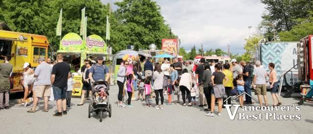Food Truck Festival Mascot