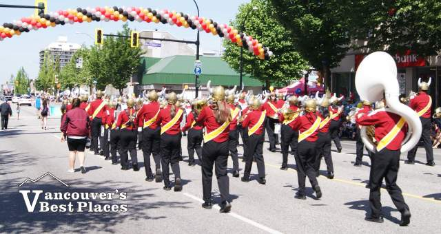 Hats Off Day Marching Band