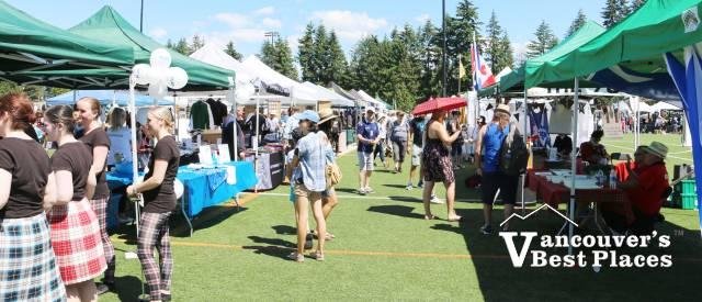 BC Highland Games Market Village