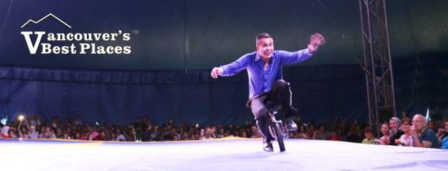 Circo Osorio Unicyclist