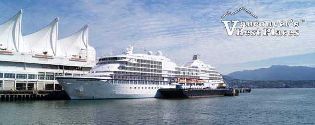 Cruise Ship at Vancouver Port