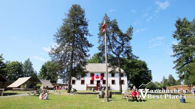 Fort Langley on Canada Day