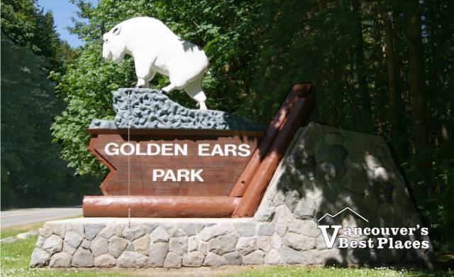 Golden Ears Park Entrance