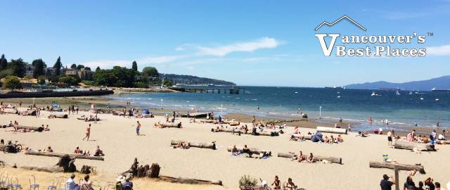 Kitsilano Beach in Summer