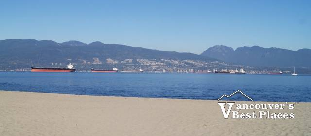 View from Jericho Beach
