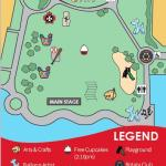 Waterfront Park Canada Day Map