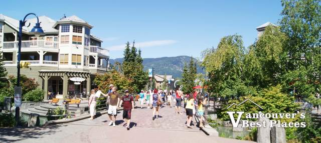 Whistler Village Pathways