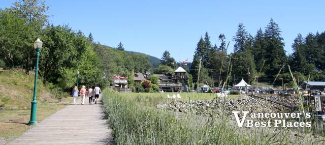 Bowen Island Boardwalk