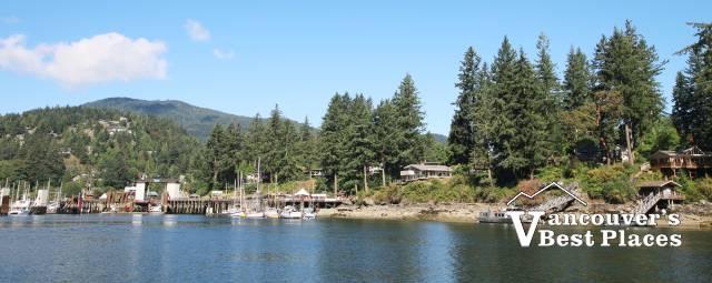 Bowen Island Entrance Shoreline