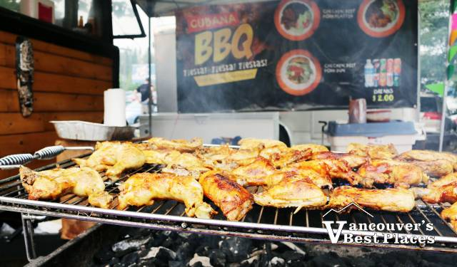 Caribbean BBQ Chicken Food Vendor