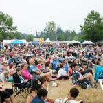 Concert Crowds at Maple Ridge Caribbean Festival