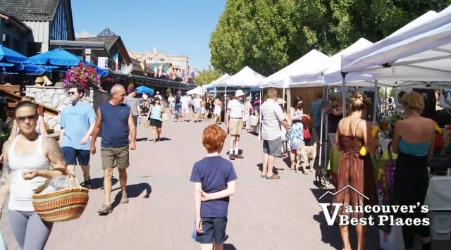 Market Day at Whistler