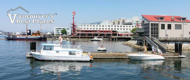 Pacific Ferries Dock in North Vancouver