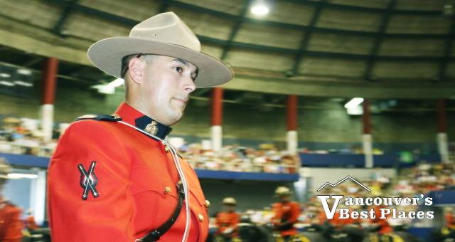 RCMP at Musical Ride