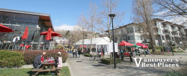 River District Vancouver in Spring