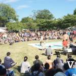 Sumo Ring at Japanese Festival