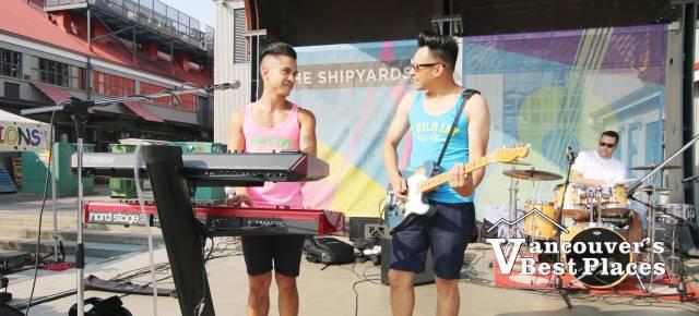 Trilojay Band at the Shipyards