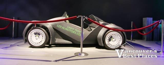 POPnology 3D Printed Car at the PNE