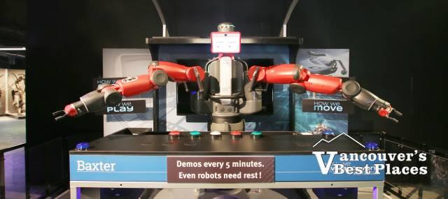 POPnology Baxter Robot at the PNE