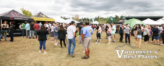 Beer Festival Crowds at Bill Reid Amphitheatre