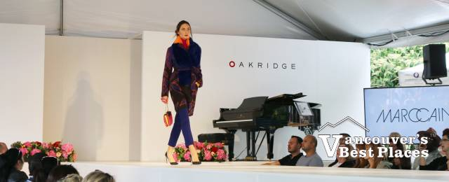 Fashion Show Model and Grand Piano