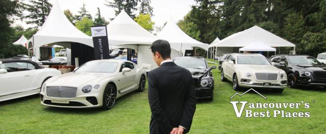 Luxury & Supercar Weekend at VanDusen Gardens