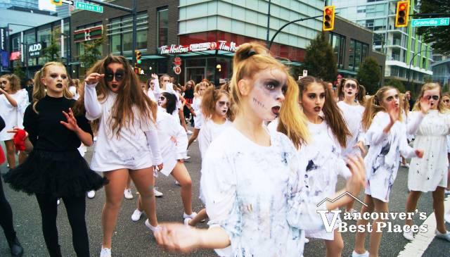 Parade Zombie Dancers
