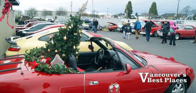 Christmas Car Show at Steveston Village