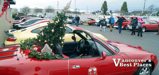 Christmas Car Show at Steveston Village