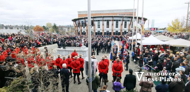 Remembrance Day in Surrey