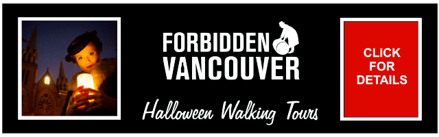 Forbidden Vancouver Halloween Walking Tours
