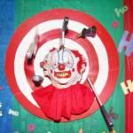 Halloween Clown Head