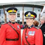 RCMP at Cloverdale Remembrance Day