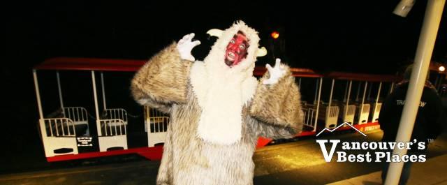 Stanley Park Train Halloween Character