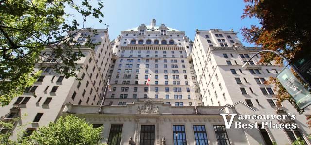 Vancouver Fairmont Hotel on Georgia