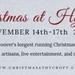 Christmas at Hycroft Banner Ad
